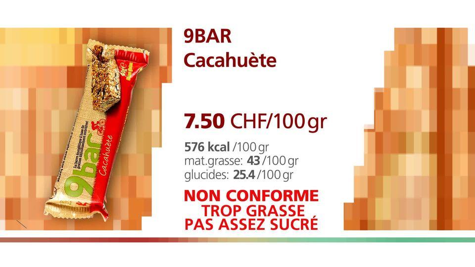 Ninebar cacahuète. [RTS]