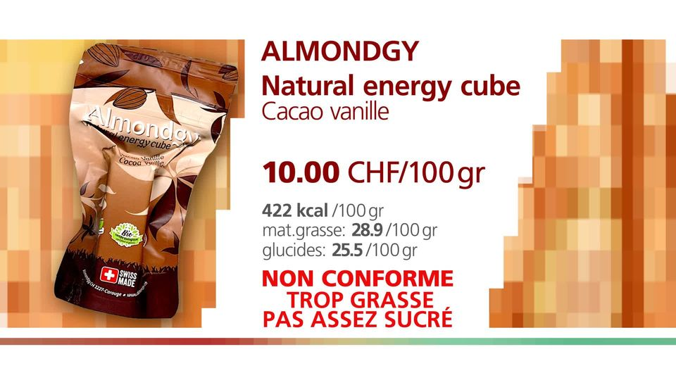 Almondgy natural energy cube. [RTS]