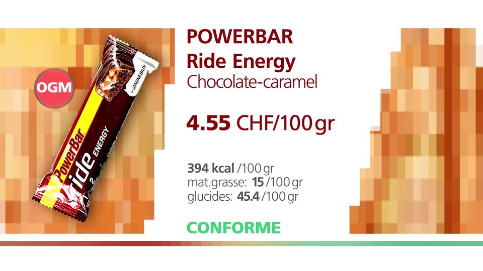 PowerBar Ride Energy. [RTS]