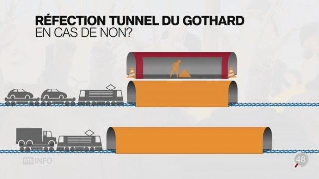 La bataille pour un deuxième tube routier au Gothard est lancée [RTS]