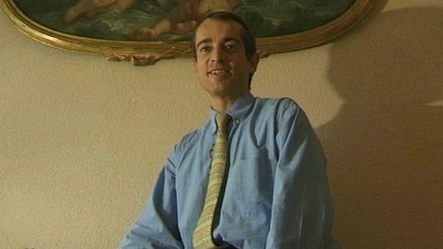 Patrick Micheels en 2002 [RTS]