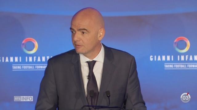 Gianni Infantino pourrait devenir le prochain président de la FIFA [RTS]