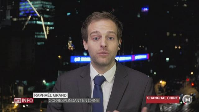 Rachat de Syngenta par ChemChina: le point avec Raphaël Grand depuis Shangai [RTS]