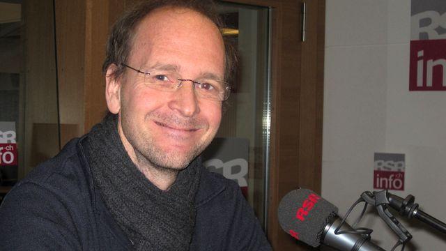 Dr. Marc Laperrouza, spécialiste de la Chine. [Caroline Dumoulin - RTS]