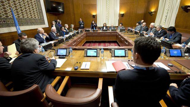 Les pourparlers sur la Syrie à Genève sont suspendus. [UN - Pool - Anadolu Agency  - AFP]