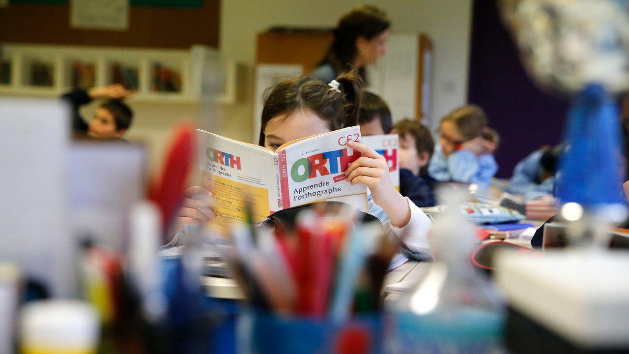 Une classe d'école primaire en France. [AFP]