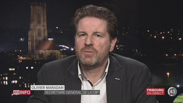 Réforme de l'orthographe: les précisions d'Olivier Maradan à Fribourg [RTS]