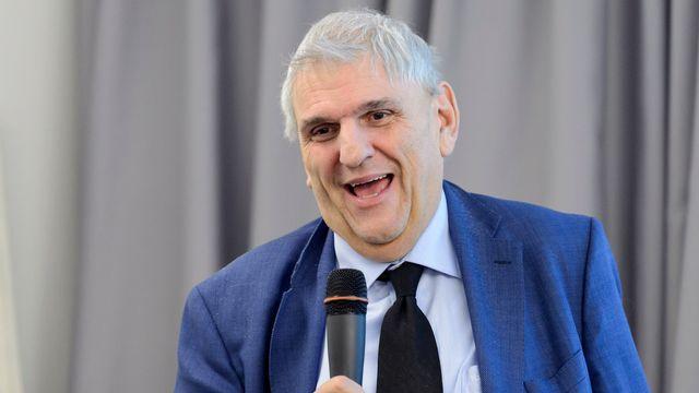 Daniel Brélaz, syndic de Lausanne. [Laurent Gillieron - Keystone]