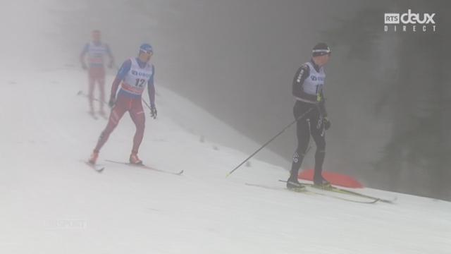 50km messieurs: Course trop longue pour pour sa reprise, Dario Cologna abandonne [RTS]