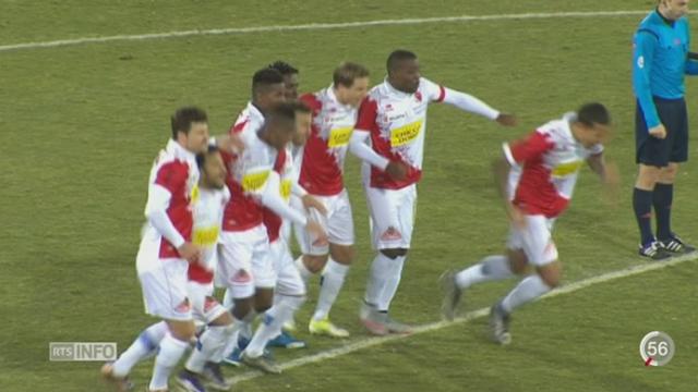 Football: le FC Sion est sur tous les fronts [RTS]