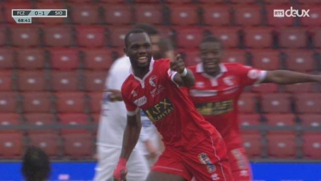 FC Zurich - FC Sion (0-1): Papa Moussa Konate ouvre le score pour les Sédunois [RTS]