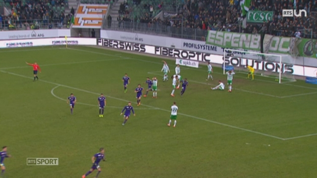 Football - Super League (19ème j.): Saint-Gall – FC Thoune (1 – 2) + résultats et classement [RTS]