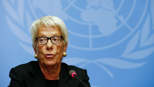 Pour Carla del Ponte, il n'est pas exclu de négocier avec Bachar al-Assad. [DR]