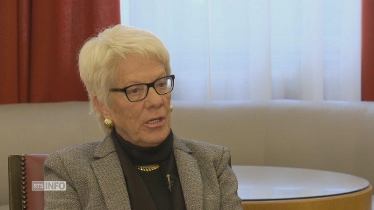 """Carla Del Ponte: """"Globalement, l'intervention de la Russie en Syrie était une bonne chose"""" [RTS]"""