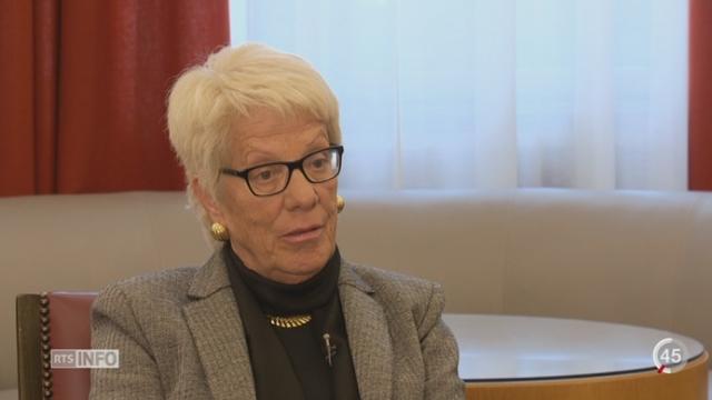 Réfugiés Syriens: les explications de Carla Del Ponte, commission enquête ONU violations droits de l'Homme Syrie [RTS]