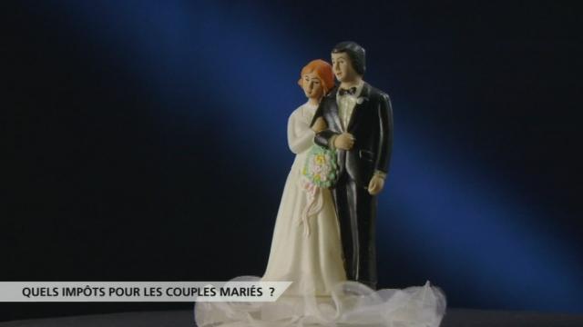 """Quels impôts pour les couples mariés? Le décryptage de l'initiative du PDC """"contre la pénalisation du mariage"""" [RTS]"""