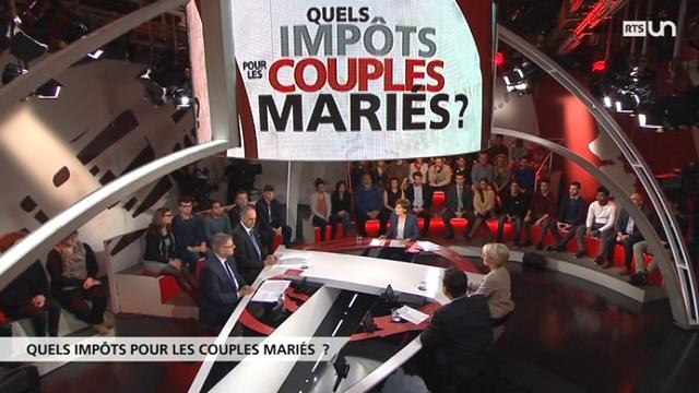 Spécial votation - Quels impôts pour les couples mariés? [RTS]
