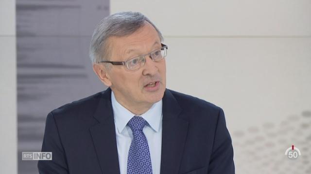 OTAN - Volonté de freiner la crise migratoire: le point avec Xavier Colin [RTS]