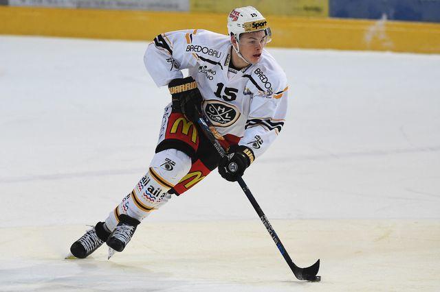 Gregory Hofmann évolue au HC Lugano. [Gabriele Putzu - Keystone]