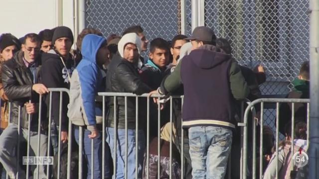 Crise des migrants: l'espace Schengen est en sursis [RTS]
