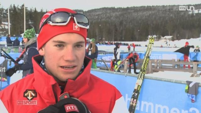 Jeux Olympiques de la Jeunesse à Lillehammer: à 16 ans, Arnaud Guex est l'un des candidats suisses en cross-country [RTS]