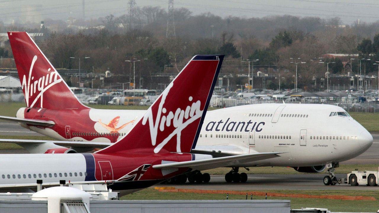 L'avion de la compagnie Virgin Atlantic survolait l'Irlande quand il a été visé par un laser. [Lefteris Pitarakis - Keystone]