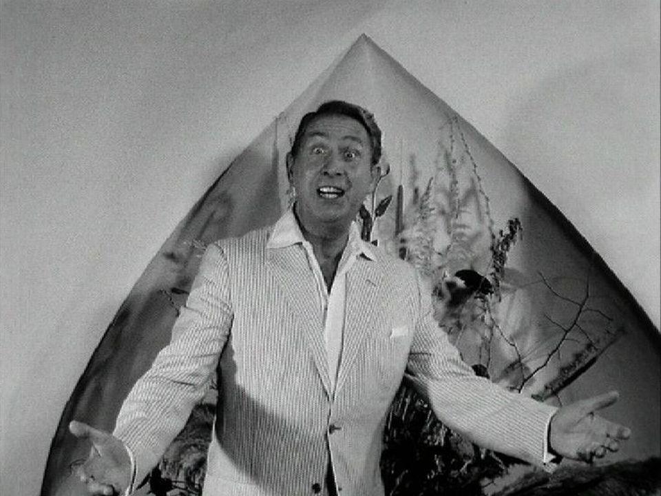 Charles Trenet invité de l'émission Carrefour en 1965. [RTS]