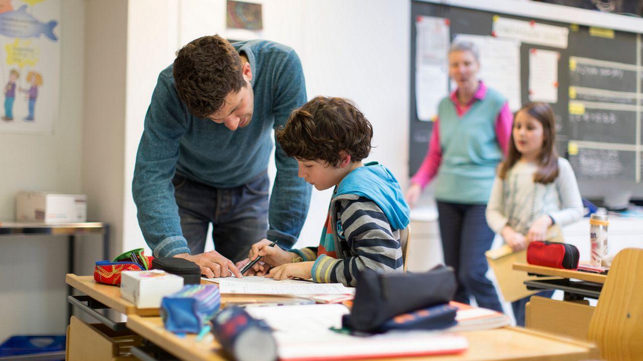 La HEP du Nord-Ouest testera la motivation des futurs enseignants. [Gaëtan Bally - Keystone]