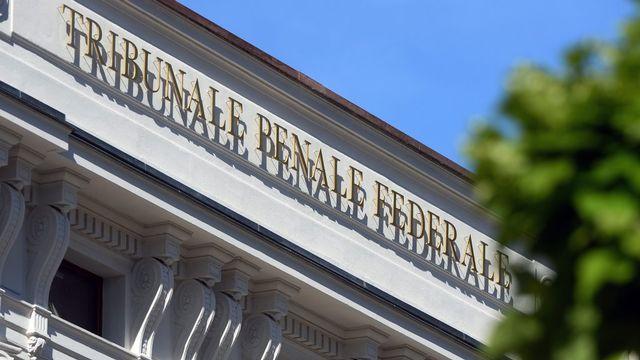 Le Tribunal pénal fédéral à Bellinzone. [Carlo Reguzzi - Ti-Press/Keystone]