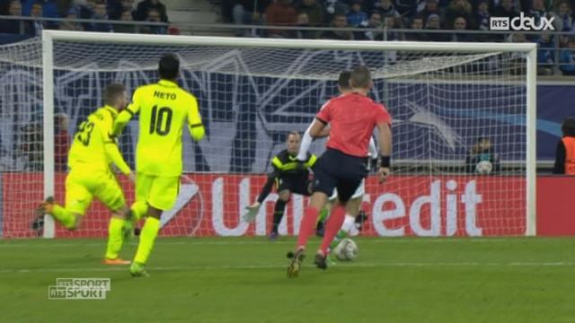 1-8, KAA Gent – VfL Wolfsburg (2-3): grâce notamment à un doublé de Draxler, les Allemands s'imposent en terre belge [RTS]