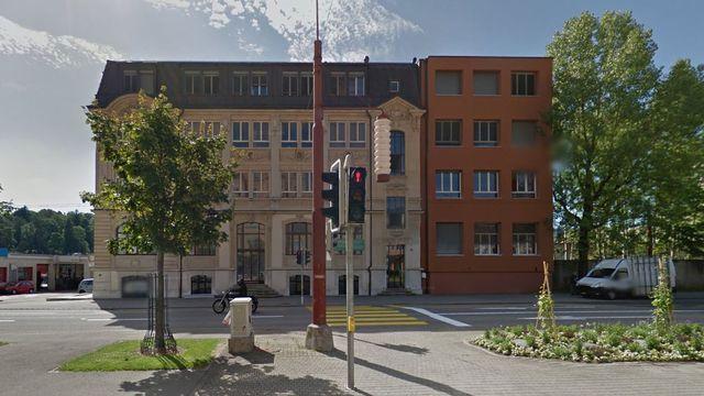 L'Institut culturel musulman de Suisse est basé à l'Avenue Léopold-Robert à La Chaux-de-Fonds. [Google Street View]