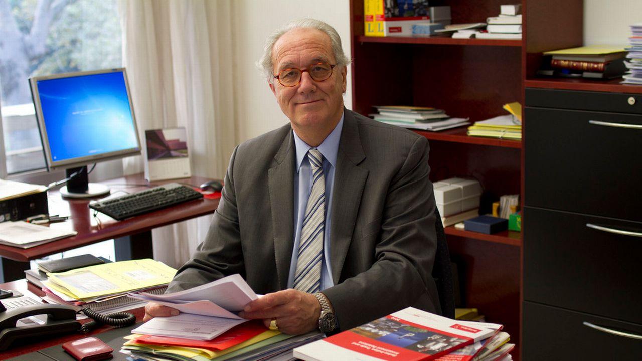Le diplomate Philippe Welti photographié dans l'ambassade de Suisse en Inde en décembre 2011. [Anon - AP/Keystone]