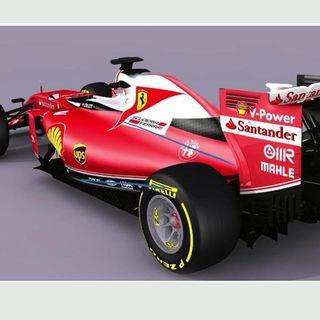 f1 ferrari d voile sa nouvelle monoplace un clin d 39 oeil aux ann es 70 auto formule1. Black Bedroom Furniture Sets. Home Design Ideas