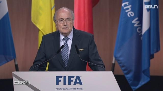 Le prochain président de la FIFA va être élu [RTS]