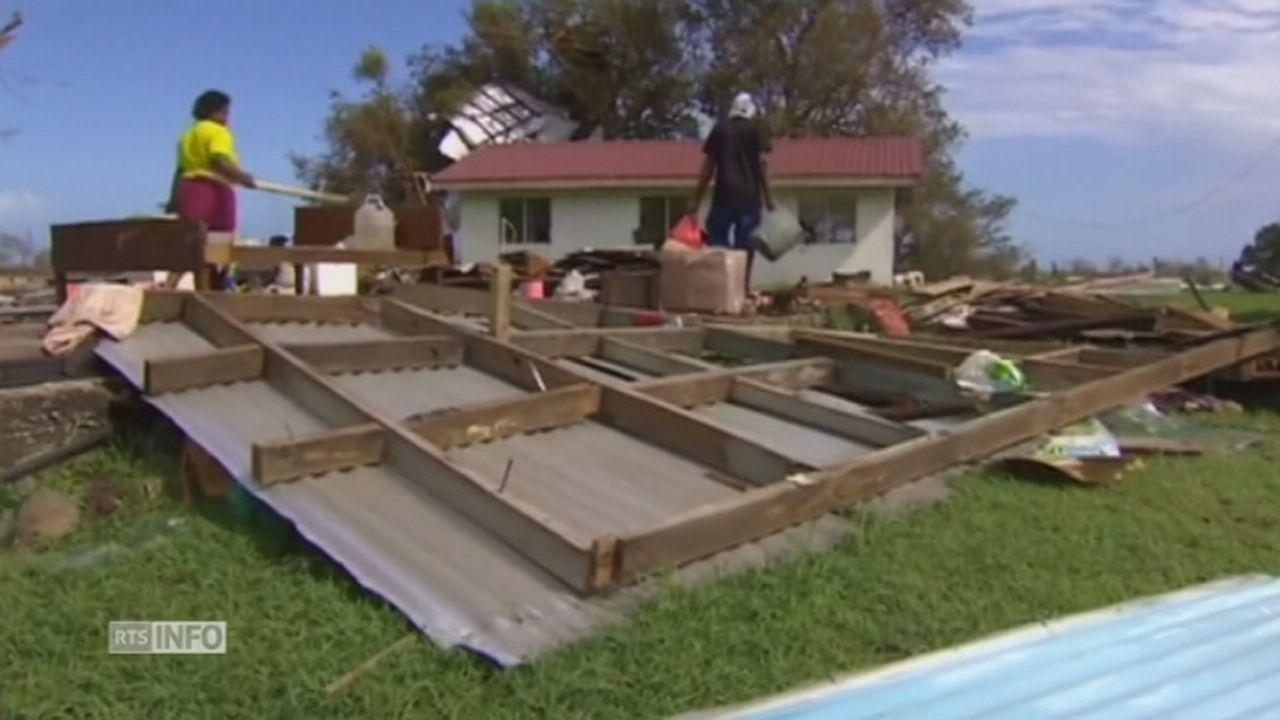 Un cyclone tue au moins 20 personnes aux îles Fidji [RTS]
