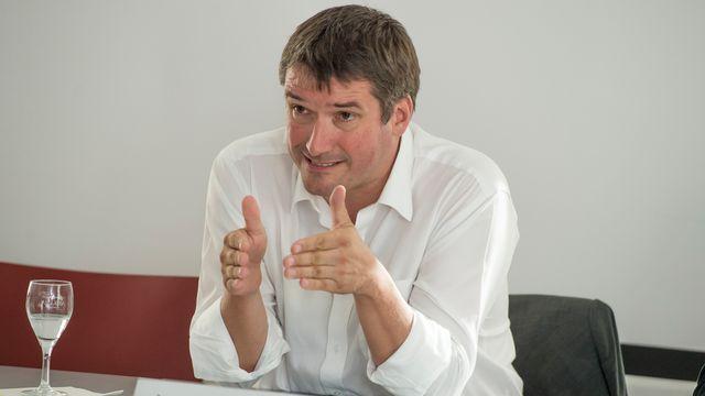 Christian Levrat, président du Parti socialiste. [Keystone]