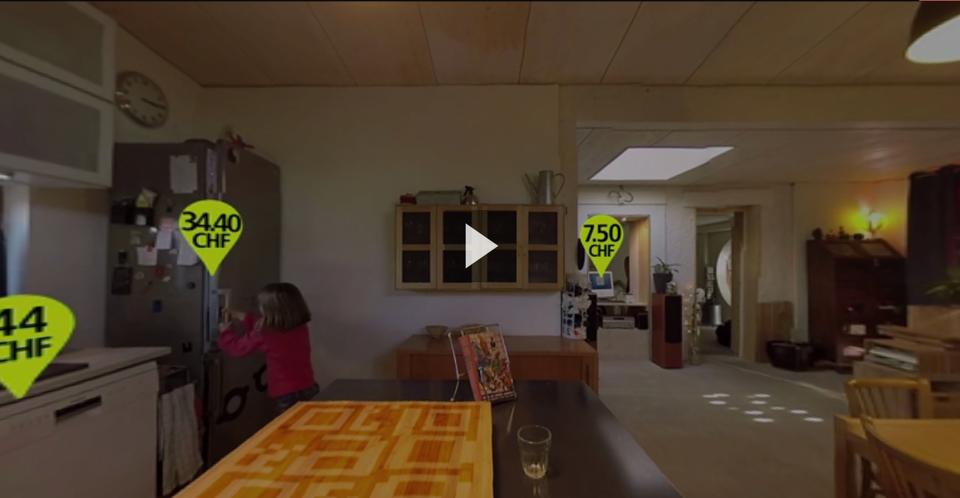 Vidéo 360°: consommation en énergie de vos appareils ménagers [RTS]