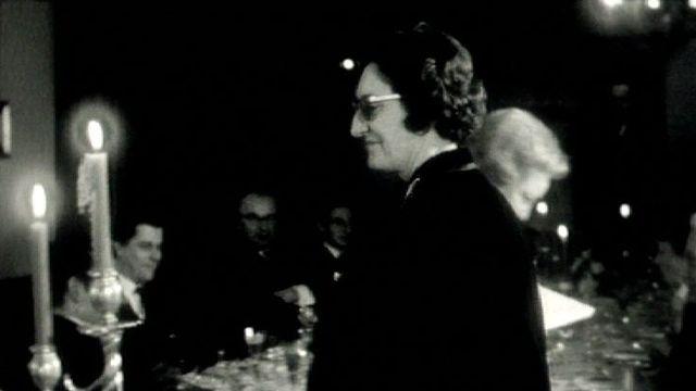 Jane Rosier en 1963. [RTS]