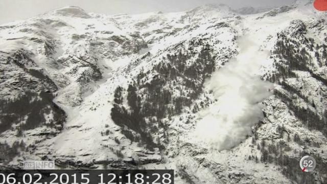 Un radar détecte les avalanches au moment où elles se déclenchent [RTS]