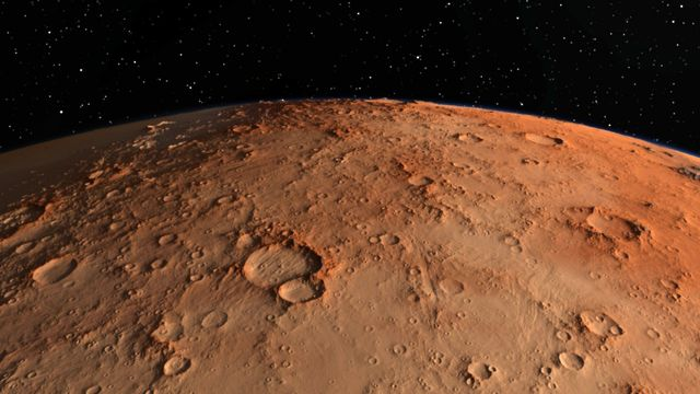 Mars, la planète rouge. [helen_f]
