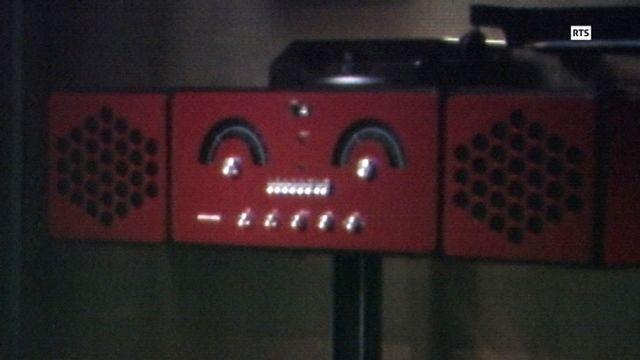 L'appareil stéréo combiné RR126 du designer italien Achille Castiglioni. [RTS]