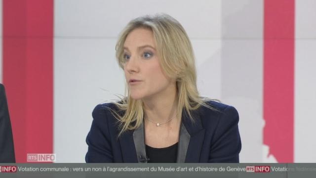 """Céline Amaudruz: """"Quand on a l'habitude de gagner des initiatives, ça fait mal"""" [RTS]"""