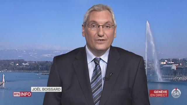 Votations cantonales (GE): le point avec Joël Boissard, depuis Genève [RTS]