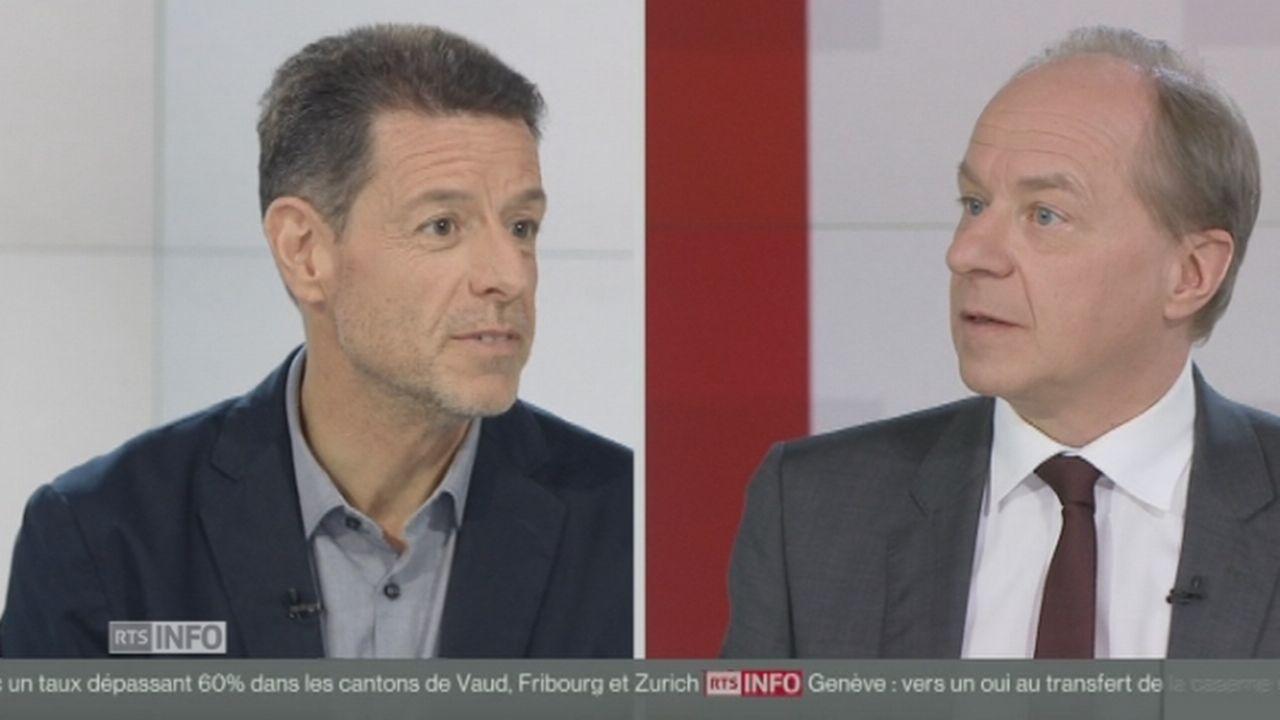 """Pascal Sciarini: """"De mémoire, c'est la plus forte participation depuis 20 ans."""" [RTS]"""