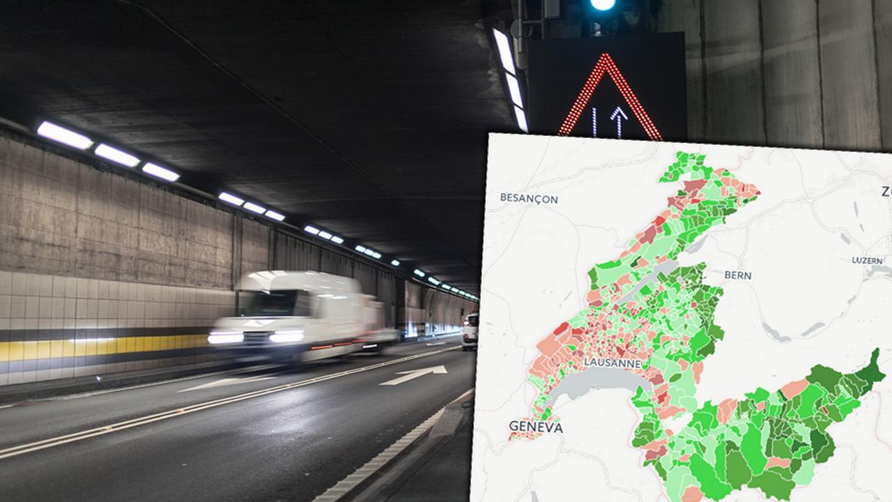 Le tunnel routier du Gothard aura un deuxième tube. [Keystone - Keystone]