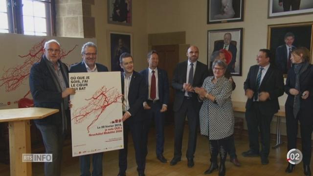 """Votations cantonales - Neuchâtel: le """"oui"""" l'emporte largement pour le projet """"Mobilité 2030"""" [RTS]"""