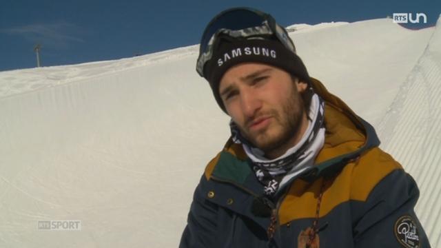 Snowboard: Pat Burgener connaît une carrière atypique [RTS]