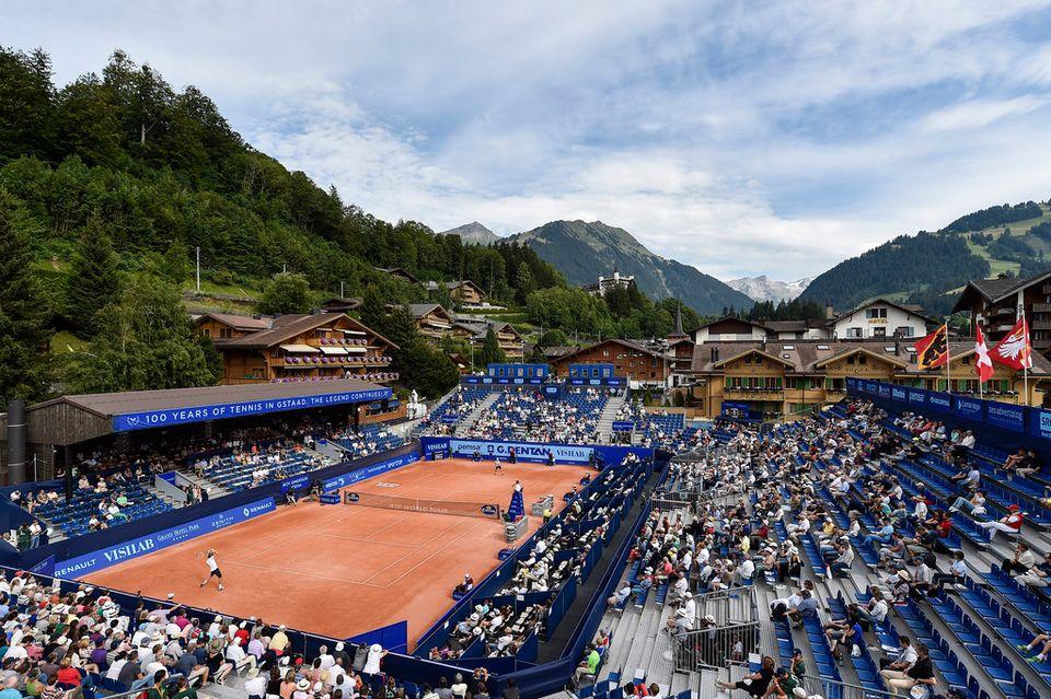 Outre un tournoi masculin, Gstaad pourrait également avoir une compétition féminine. [Schneider - Keystone]