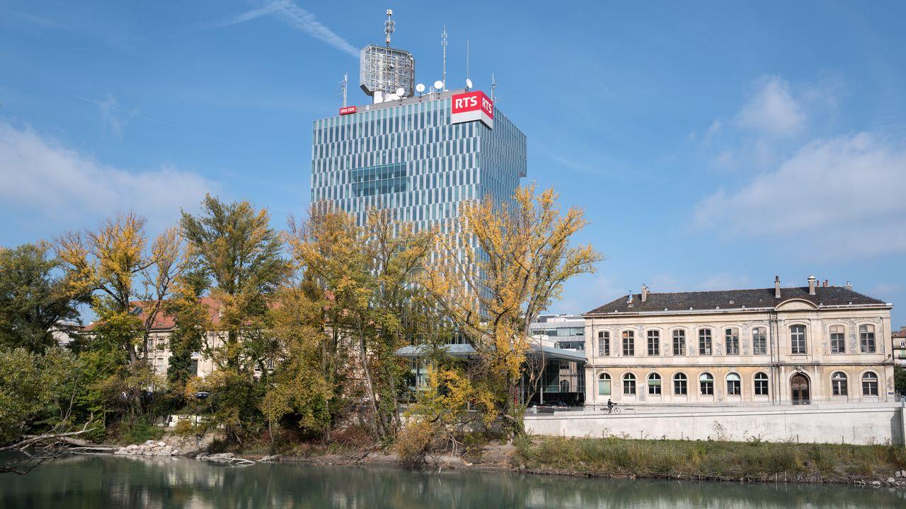 La tour RTS à Genève. [Laurent Bleuze - RTS]