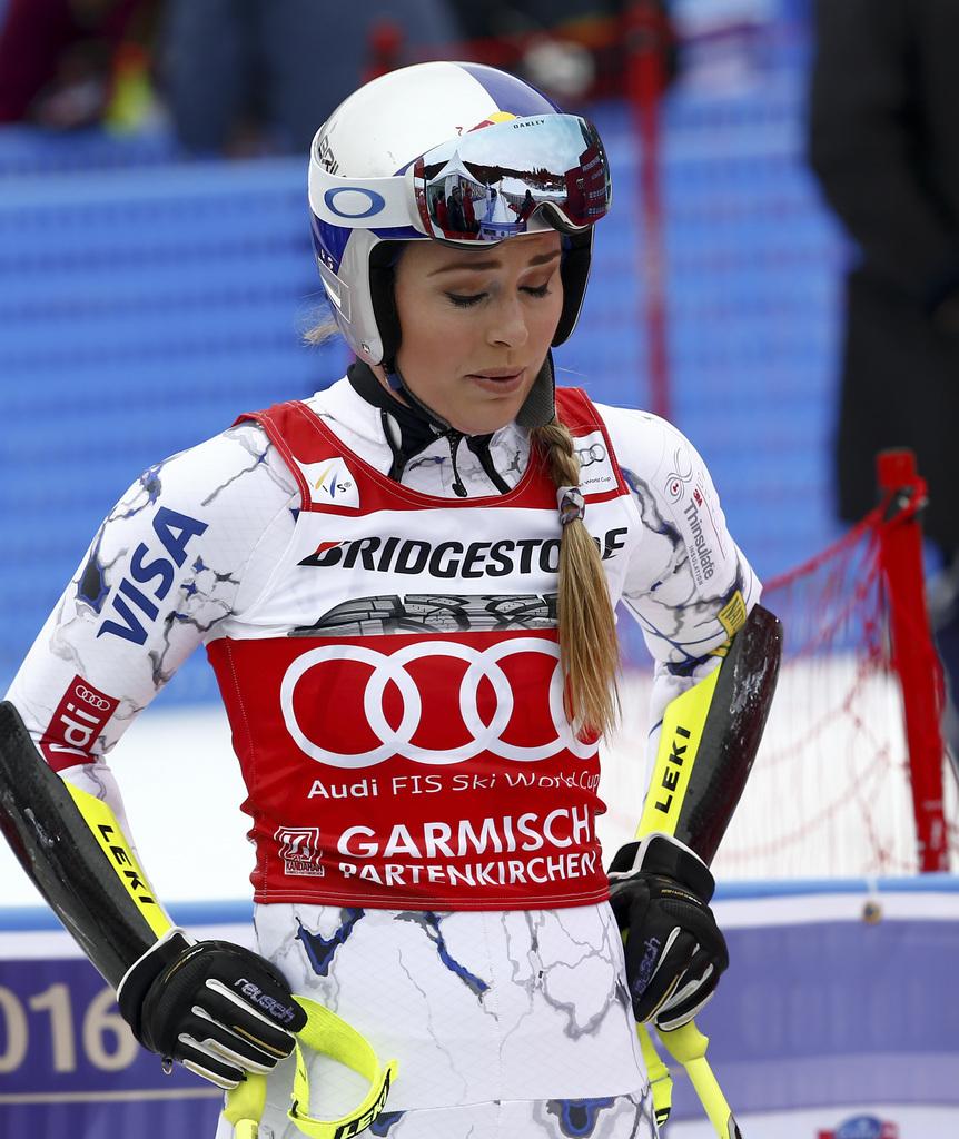 Ski alpin - Fracture à un bras pour Lindsey Vonn